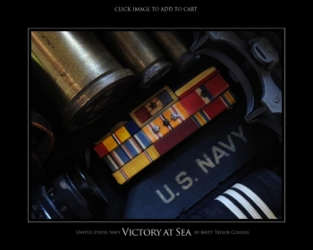 Navy - Victory at Sea 1 - Giclee Print