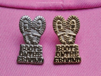 Boots on the Ground Tie Tac-Vest Pin