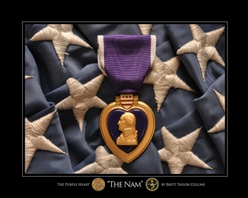 """The 'Nam""-Purple Heart-Vietnam Print"