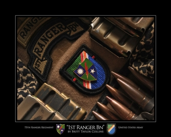 75th Ranger Regiment- SPECIAL TROOPS BATTALION- Afganistan
