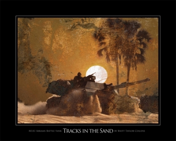 """Tracks in the Sand"""