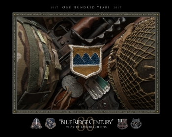 "80th Infantry Division,""Blue Ridge Century,"" 100th Anniversary Print"