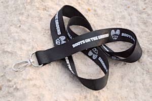 Boots on the Ground Lanyard