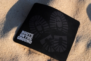 Boots on the Ground Mouse Pad
