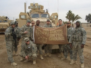 Boots on the Ground Flag