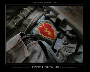 "25th Infantry Division - ""TROPIC LIGHTNING""-ORIGINAL VERSION"