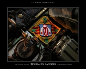 "4th Infantry Division - ""HIGHLAND RANGERS"" ""K"" COMPANY"