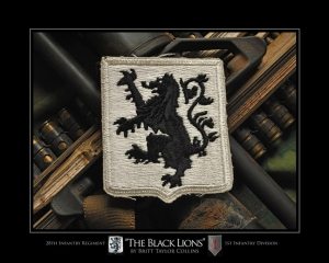 "28th Infantry Regiment- ""BLACK LIONS""-1st Infantry"