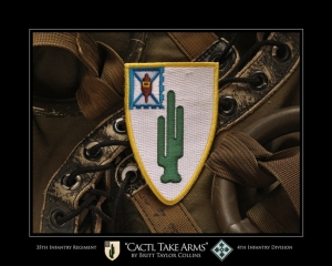 "35th Infantry Regiment- ""CACTI, TAKE ARMS""-4th INF"