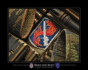 198th Light Infantry Brigade-BRAVE & BOLD