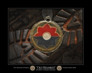 "9th Inf Div-""THE RELIABLES""-2nd VERSION"