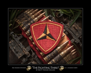"3rd Marine Division USMC - ""THE FIGHTING THIRD"""