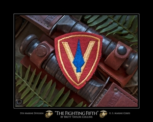 "5th Marine Division USMC - ""THE FIGHTING FIFTH"""