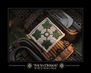 "4th Infantry Division- ""THE IVY DIVISION""-2nd Version"