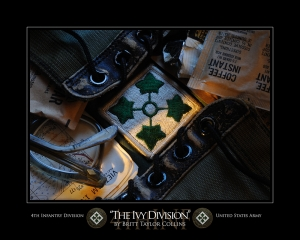 "4th Infantry Division- ""THE IVY DIVISION""-Original Version"