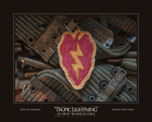 "25th Infantry Division - ""TROPIC LIGHTNING""-2nd Version"