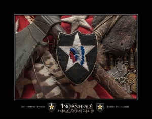 "2nd Infantry Division-""INDIANHEAD"""