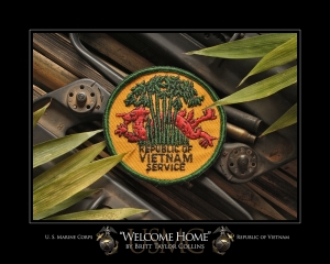 """Welcome Home""- USMC-Vietnam"