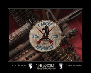 """The Lancers""-""B"" Co., 158th AVN BN-101st Airborne"
