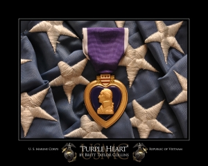 Purple Heart-USMC-Vietnam Print